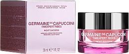 Parfumuri și produse cosmetice Mască de noapte pentru față - Germaine de Capuccini Timexpert Rides Night Success