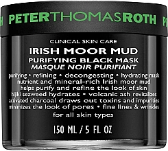 Parfumuri și produse cosmetice Mască de față - Peter Thomas Roth Irish Moor Mud Purifying Black Mask