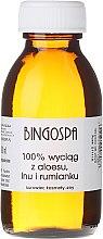 Parfumuri și produse cosmetice Extract de aloe, in și mușețel 100% - BingoSpa