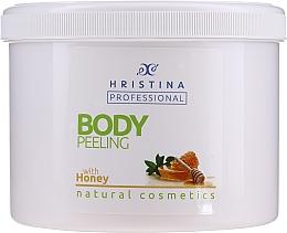 "Parfumuri și produse cosmetice Scrub pentru corp ""Miere"" - Hristina Professional Honey Body Peeling"