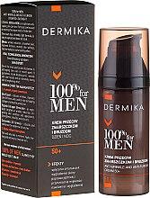 Parfumuri și produse cosmetice Cremă împotriva ridurilor profunde - Dermika Anti-Wrinkle And Anti-Furrow Cream 50+