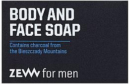 Parfumuri și produse cosmetice Săpun solid pentru față și corp - Zew For Men Body And Face Soap