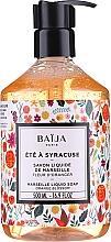 Parfumuri și produse cosmetice Săpun lichid de Marsilia - Baija Ete A Syracuse Marseille Liquid Soap