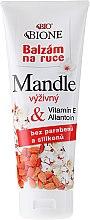 Parfumuri și produse cosmetice Cremă pentru mâini - Bione Cosmetics Mandle Cream