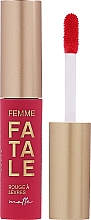 Parfumuri și produse cosmetice Ruj lichid de buze, mat - Vivienne Sabo Femme Fatale Rouge a Levres Matte