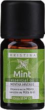 Parfumuri și produse cosmetice Ulei esențial de mentă - Hristina Cosmetics Mint Essential Oil