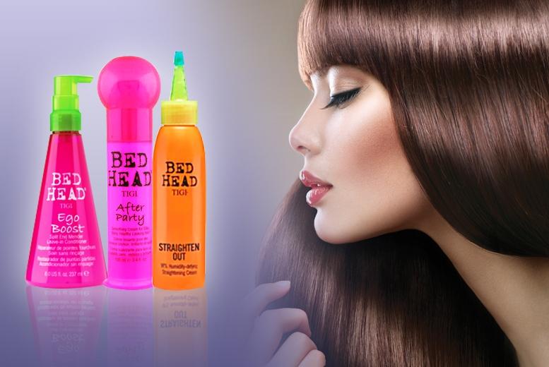 Cremă de păr cu efect de netezire - Tigi Bed Head After Party Smoothing Cream — Imagine N5