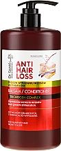 Parfumuri și produse cosmetice Balsam pentru păr fragil și predispus la cădere cu pompă - Dr. Sante Anti Hair Loss Balm