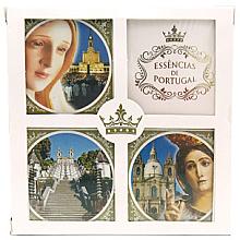 Parfumuri și produse cosmetice Set - Essencias De Portugal Religious Collection (soap4x50g)