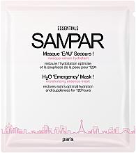 Parfumuri și produse cosmetice Mască hidratantă de față - Sampar H2O 'Emergency' Mask