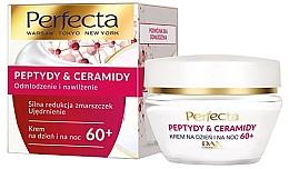 Parfumuri și produse cosmetice Cremă regenerantă pentru față 60+ - Perfecta Peptydy&Ceramidy