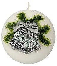 """Parfumuri și produse cosmetice Lumânare decorativă """"Bilă. Clopot de Crăciun"""", 10 cm - Artman Christmas Bell Candle Ball"""