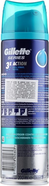 Gel de ras - Gillette Series Protection Shave Gel for Men — Imagine N2