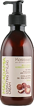 Parfumuri și produse cosmetice Cremă pentru păr - Kosswell Professional Macadamia Hydrating Styling Cream