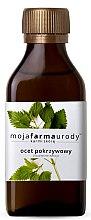 Parfumuri și produse cosmetice Oțet din plante pentru păr întunecat - Moja Farma Urody