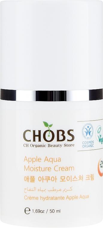 Cremă cu extract de măr pentru pleoape - CHOBS Apple Aqua Moisture Cream — Imagine N2