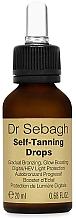Parfumuri și produse cosmetice Autobronzant pentru față - Dr Sebagh Self-Tanning Drops
