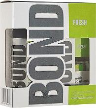 Parfumuri și produse cosmetice Set - Bond Fresh (deo/150ml + ash/lot/100ml)