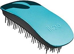 Parfumuri și produse cosmetice Pieptene pentru păr - Ikoo Home Pacific Metallic Black