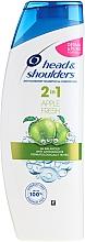 """Parfumuri și produse cosmetice Șampon și balsam împotriva mătreții 2în1 """"Măr Proaspăt"""" - Head & Shoulders Apple Fresh Shampoo 2in1"""