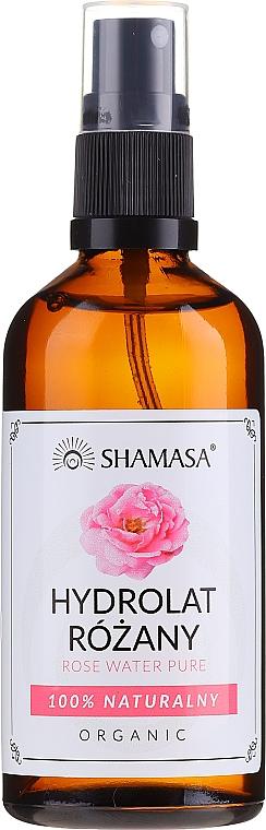 Apă naturală de trandafiri - Shamasa Rose Water — Imagine N1