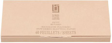Șervețele matifiante pentru față - Serge Lutens Powdered Blotting Paper — Imagine N1