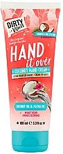 Parfumuri și produse cosmetice Cremă cu cocos pentru mâini - Dirty Works Coconut Hand Cream