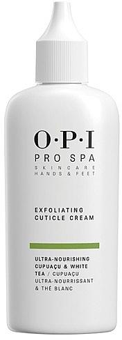 Gel-cremă pentru înlăturarea cuticulei - O.P.I ProSpa Exfoliating Cuticle Cream — Imagine N1