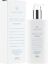 Parfumuri și produse cosmetice Șampon regenerant pentru păr uscat și deteriorat - Halier Re:scue Shampoo