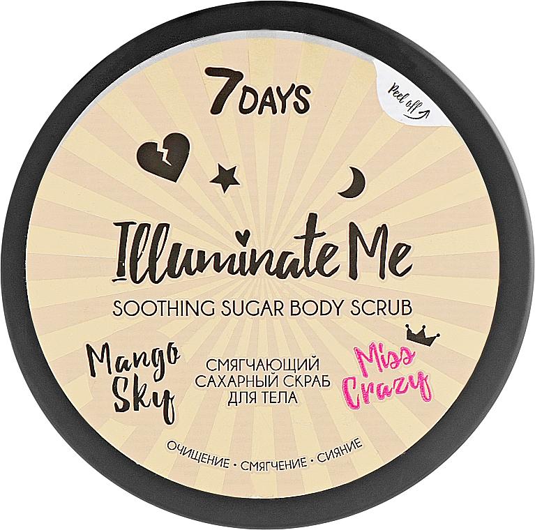 Scrub de zahăr pentru corp - 7 Days Illuminate Me Miss Crazy Soothing Sugar Body Scrub — Imagine N1