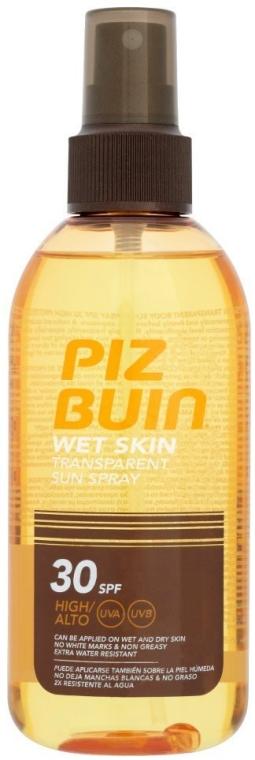 Spray de protecție solară pentru corp - Piz Buin Wet Skin Transparent Sun Spray SPF30