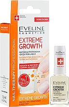 Întăritor pentru unghii - Eveline Cosmetics Nail Therapy Professional Protein Extreme Growth — Imagine N1