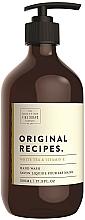 Parfumuri și produse cosmetice Săpun lichid pentru mâini - Scottish Fine Soaps Original Recipes White Tea & Vitamin E Hand Wash