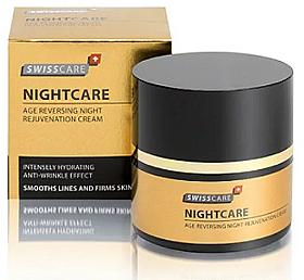 Cremă anti-îmbătrânire de noapte pentru față Swisscare - NightCare — Imagine N2