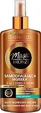 Parfumuri și produse cosmetice Spray-autobronzant pentru față și corp - Bielenda Magic Bronze
