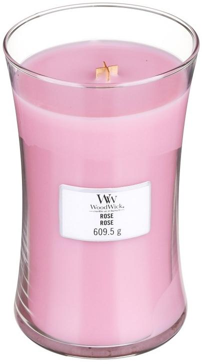 Lumânare aromată - WoodWick Hourglass Candle Rose — Imagine N1