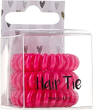 Parfumuri și produse cosmetice Elastice pentru păr, roz - Cosmetic 2K Hair Tie Pink