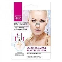 Parfumuri și produse cosmetice Plasture pentru îndepărtarea punctelor negre de pe nas - Czyste Piekno Nose Pack