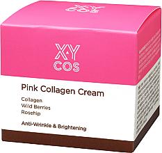 Parfumuri și produse cosmetice Cremă hidratantă de față cu colagen - XYcos Pink Collagen Cream