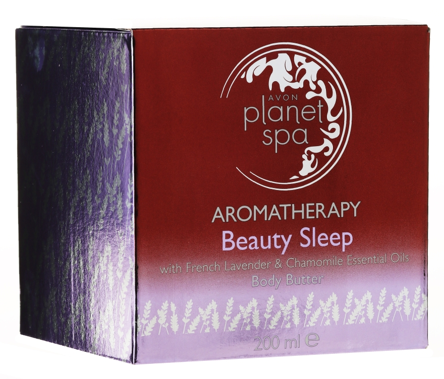 Ulei de corp - Avon Planet Spa Aromatherapy Beauty Sleep Body Butter — Imagine N3