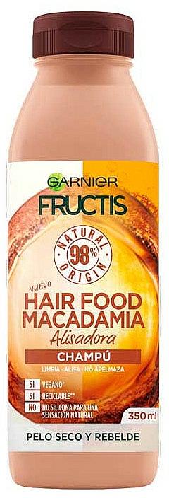 Șampon ultra nutritiv - Garnier Fructis Hair Food Macadamia Smoothing Shampoo