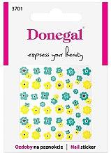 Parfumuri și produse cosmetice Nail stickers, 3701 - Donegal