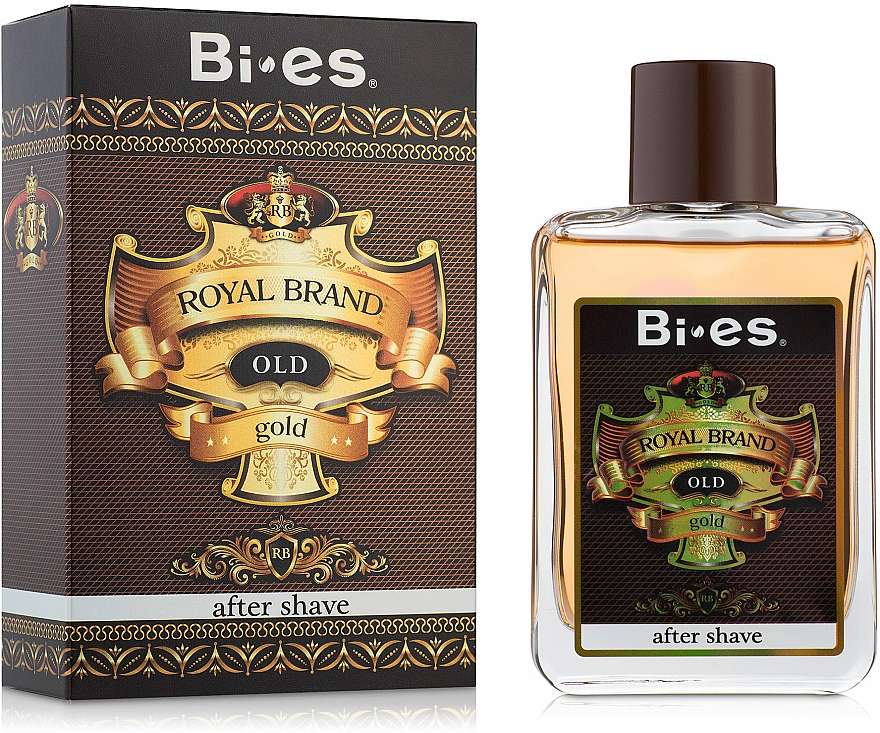 Bi-Es Royal Brand Gold - Loțiune după ras