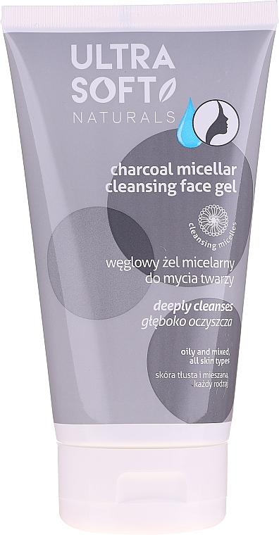 Gel micelar cu cărbune pentru curățare - Tolpa Ultra Soft Micellar Face Gel