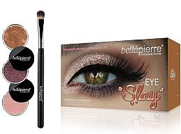 Parfumuri și produse cosmetice Set pentru machiajul ochilor - Bellapierre Eye Slay Kit Romantic Brown