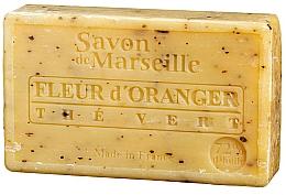 Parfumuri și produse cosmetice Săpun natural - Savon de Marseille Orange Blossom & Green Tea Soap
