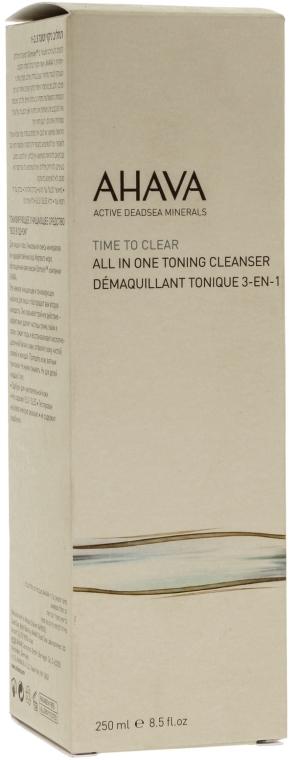 Tonic pentru față - Ahava Time To Clear All in One Toning Cleanser — Imagine N2