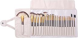Parfumuri și produse cosmetice Set pensule pentru machiaj, 24 bucăți - Lewer