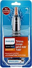 Parfumuri și produse cosmetice Trimmer pentru nas și urechi - Philips NT1150/10