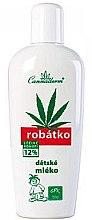 Parfumuri și produse cosmetice Cremă de corp pentru copii - Cannaderm Robatko